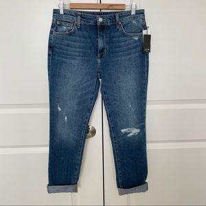 NWT Joe's Boyfriend Slim Ankle Jeans